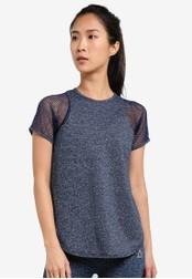 AVIVA blue and navy Short Sleeve Shirt AV679AA0S9FKMY_1