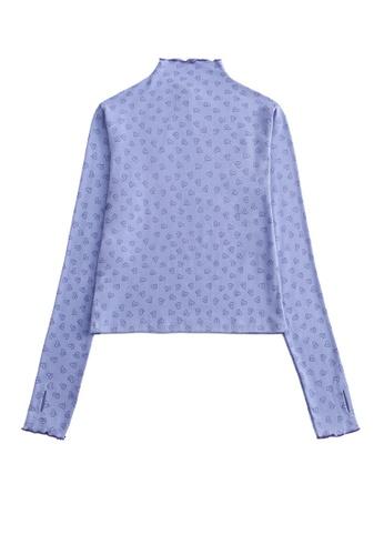 Twenty Eight Shoes Slim Love Printed Long Sleeve T-shirt HH0092 95991AA76D8D68GS_1