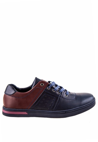 Otto navy Men's Sneakers OT407SH0JDKSPH_1