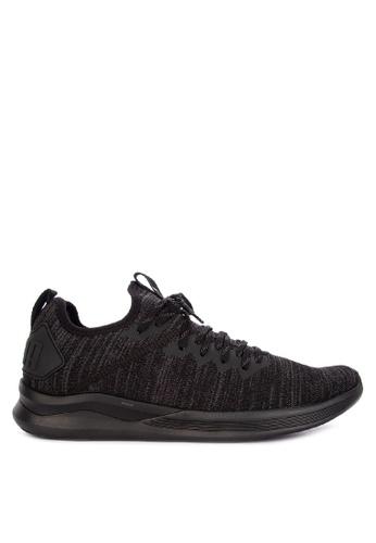 Puma black Ignite Flash Evoknit Training Shoes 002B4SH59A555FGS_1