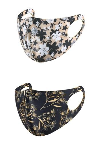 Rokarola multi Scuba Adult Mask Lilies - Luxury Flower (2 pc) 3AF39ESF060877GS_1