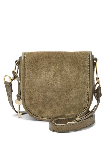 Fossil green Fossil Rumi Green Leather Sling Bag ZB7276382 715D5AC158F2BCGS_1
