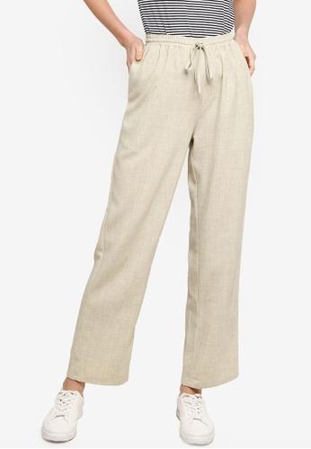 ZALIA BASICS green Lounge Trousers 368FDAAD686E53GS_1