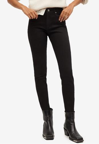 Mango grey Cotton Skinny Jeans B2315AAE974D12GS_1
