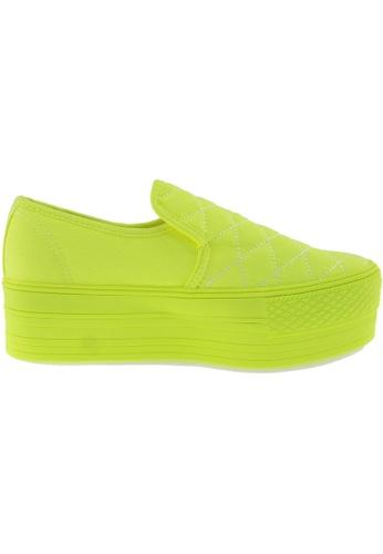 Maxstar green Maxstar Women's C50 Stitched Platform Canvas Slip On Shoes US Women Size MA164SH17QQSSG_1