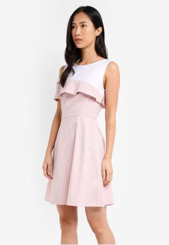 ZALORA pink One Shoulder Dress 01F73AA9EBCA49GS_1