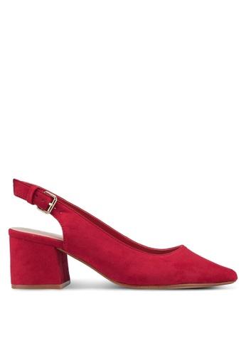 ALDO 紅色 Gauclya Heels 24623SH60E9ED6GS_1
