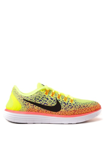 Nike black and orange Nike Free Rn Distance NI126SH36UNVMY_1