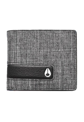 Nixon black Nixon - Showoff Bi-Fold Wallet Black/Wash NI855AC68EITSG_1