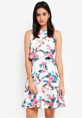 ZALORA multi Bridesmaid Double Layer Mini Dress 6B444AA2A540CAGS_1