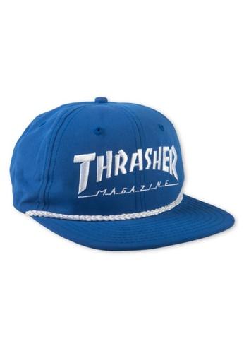 f99bc8d0576 Thrasher blue Thrasher Rope Snapback Blue 41B8DAC0FB17EAGS 1