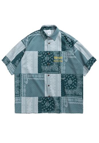 Twenty Eight Shoes Loose Ethnic Printed Short Shirt 2055S20 3BF6DAA1773FF7GS_1