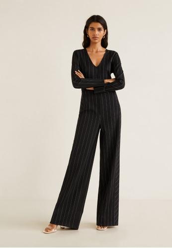 26e334189a52 Buy Mango Striped Long Jumpsuit Online on ZALORA Singapore