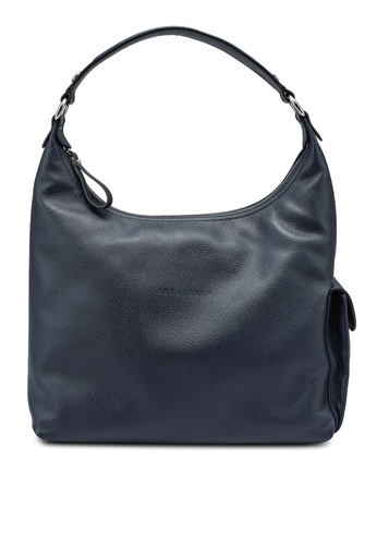 LONGCHAMP blue Le Foulonne Shoulder Bag (zt) 74174AC1408A4FGS_1
