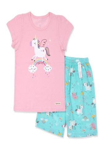 Organic mom pink Organic Cotton Bonnie Pony Pajamas 16973KAB918438GS_1
