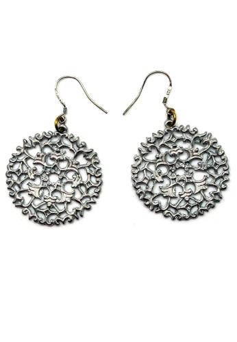 Paulini silver Earring Sakura (RP) PA011AC02VXTMY_1
