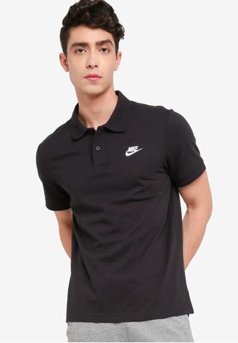 Nike black Men's Nike Sportswear Short Sleeve Polo E1AA0AA1E160F6GS_1