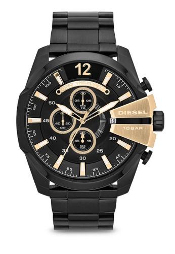 Diesel black Diesel Chief Series Stainless Steel Watch DZ4338 DI095AC85NLAMY_1