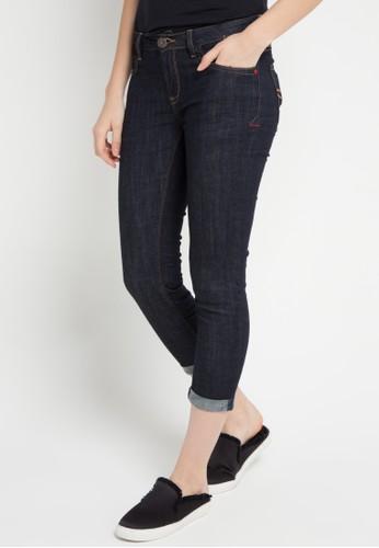 Miyoshi Jeans blue 065Bk 7/8 Jeans 8CB09AA18FF2B2GS_1