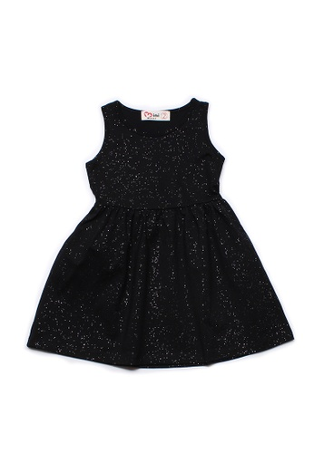 Mini Moley black Glitter Dust Girl's Dress 39630KA2886AD7GS_1