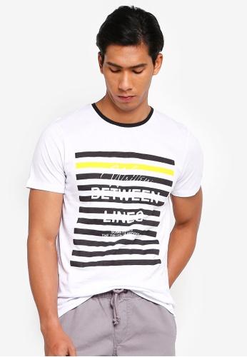 OVS 白色 休閒T恤 721A3AA0D6546CGS_1