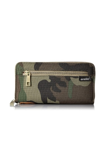 Anello multi [ANERO]Official Poly Canvas Simple-style Long Wallet AT-B0199-CAMO Camouflage 84F88AC5701D6AGS_1