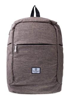 harga Woodbags Anti Theft Backpack - Gold Dust Zalora.co.id