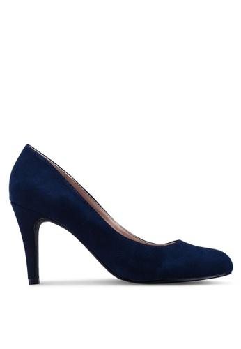 Dorothy Perkins navy Navy Microfibre 'Dallas' Court Shoes B8595SH79ECC5EGS_1