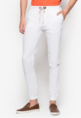 Jogging Cotton Lonesprit 眼鏡g Pants, 服飾, 服飾