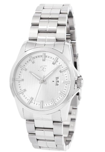 Teiwe Collection silver Moment watch Teiwe Collection TC-CL1001 jam tangan wanita - stainlles steel - putih 3B732ACC340CC7GS_1