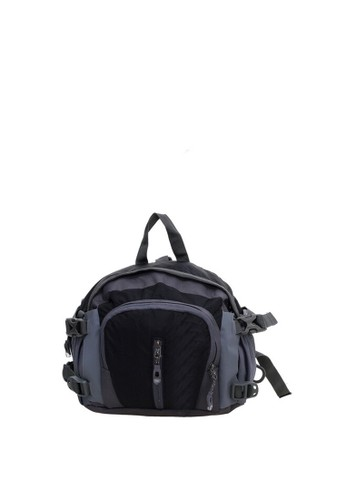 Hamlin black Hamlin Noice Tas Pinggang Pria & Wanita Model Bladder Design Sporty Multi Slot Material Nylon ORIGINAL 22887AC3F3E209GS_1