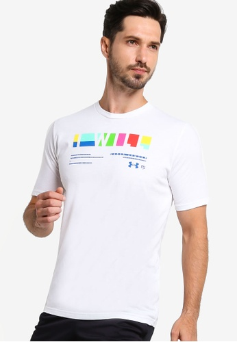 Under Armour white UA I WILL® Multi T-Shirt 9A419AA7FCA945GS_1