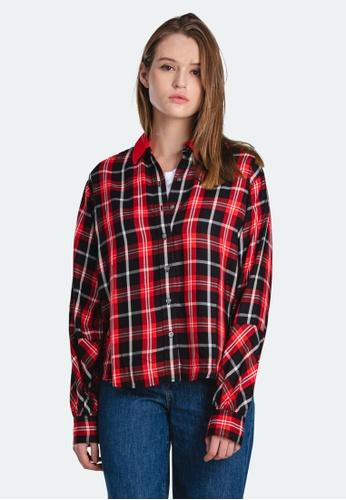 Levi's multi Levi's Long Sleeve Woven Shirt Women 18288-0000 04BF0AAF8EC626GS_1