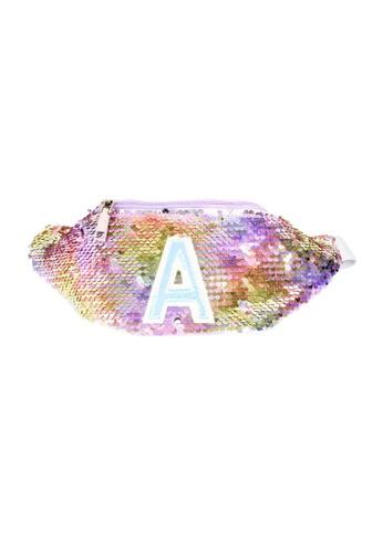 Adkidz blue Adkidz Reversible Sequin Unicorn Belt bag 0546EKCA521837GS_1