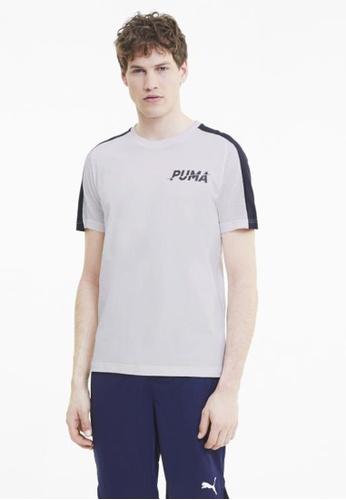 Puma white Modern Sports Men's Tee 96860AAD09C5CCGS_1