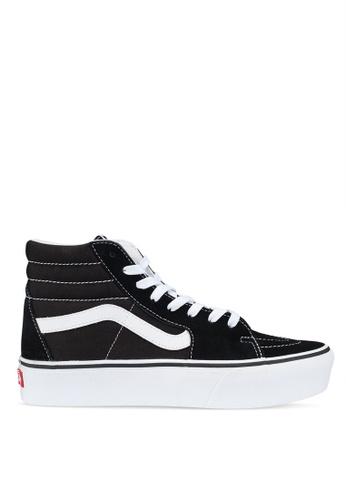 VANS black Sk8-Hi Platform 2.0 Sneakers 8289ASH6D10B0AGS 1 2f26fe5ce26a