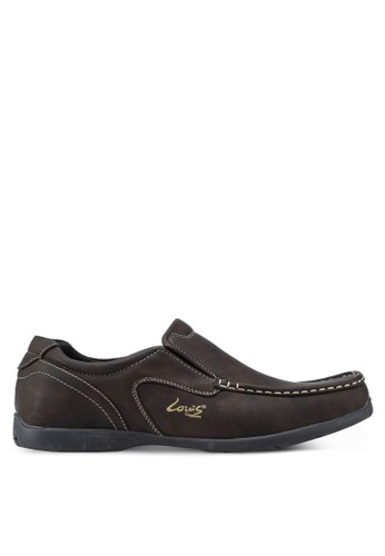 Louis Cuppers brown Casual Loafers 9CF7FSH2380E98GS_1
