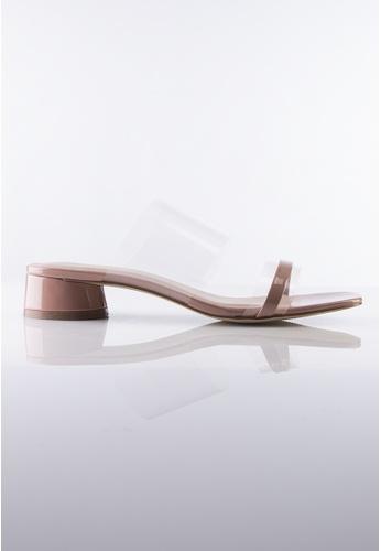 Stilaré pink Stella Transparent Sandals in Pink CA591SHDE65938GS_1