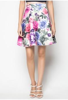 Rose Skater Skirt