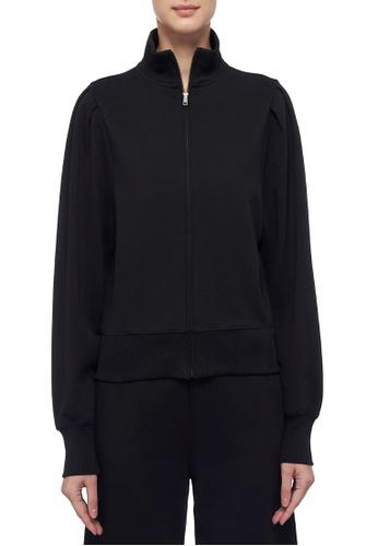CK CALVIN KLEIN 黑色 棉質衛衣外套 5FD40AA2BEA704GS_1