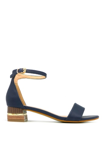 """Carlo Rino blue Carlo Rino 33340-A016-13 1.5""""Ankle Strap Dress Sandals (Blue) 8EE3BSH64710CCGS_1"""
