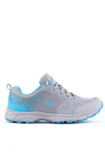 World Balance grey Tundra L Running Shoes C61F4SH370EC2EGS_1