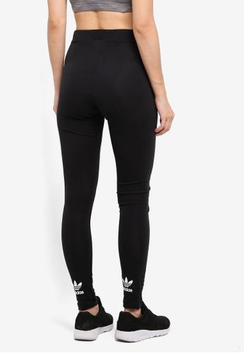 adidas black adidas originals trefoil tights AD372AA0SUYEMY_1
