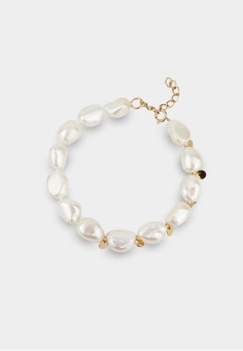 monojewelry LUNA PEARL BRACELET(GOLD) 0F2DBAC68FD238GS_1