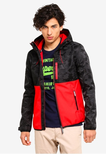 Superdry 黑色 CNY SD Hooded Windtrekker 7E05CAA5AC8CEEGS_1
