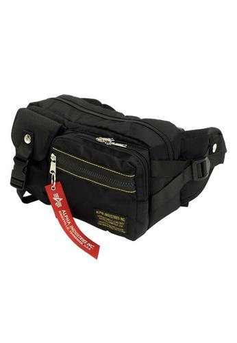 5d266f5bd3f5 Alpha Industries black ALPHA INDUSTRIES 04845 Waist Bag。Shoulder Bag  EDD67AC58B81A3GS 1