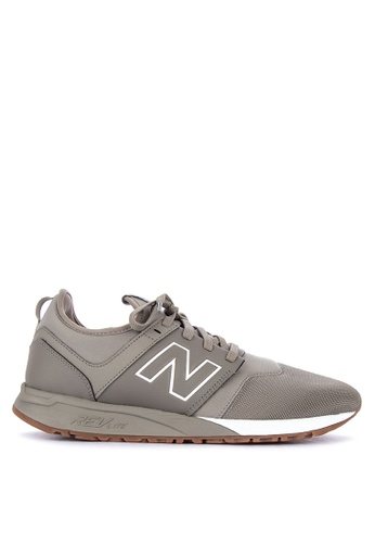 New Balance brown 247 V1 Lifestyle Shoes 4227BSH3AC76CCGS_1