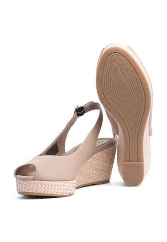a5752de74 Shop Tommy Hilfiger Iconic Elba Basic Wedge Sandals Online on ZALORA  Philippines