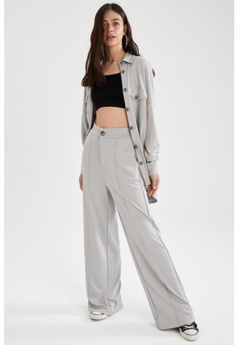 DeFacto grey Long Sleeve Shirt Tunic 47135AAFA2716DGS_1