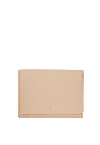 Enjoybag pink Flynn Smart`s Saffiano Leather Card Holder EN763AC19UUIHK_1